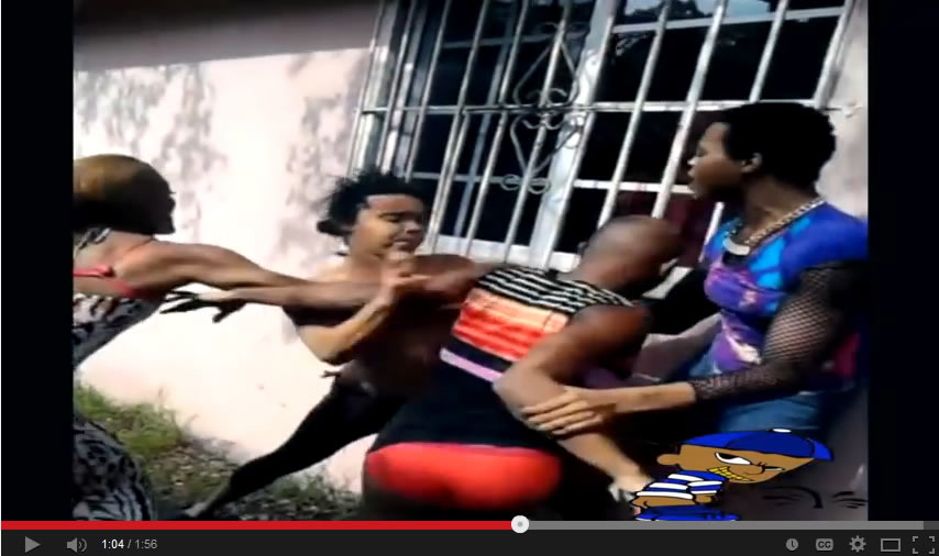 Tranny Street Fight